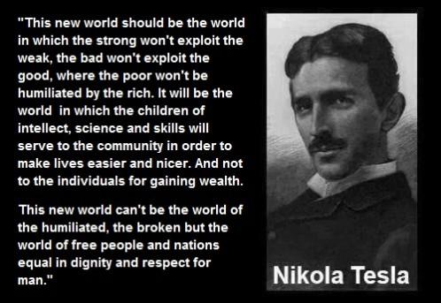 Quotes - The Nikola Tesla association   Genius for the future